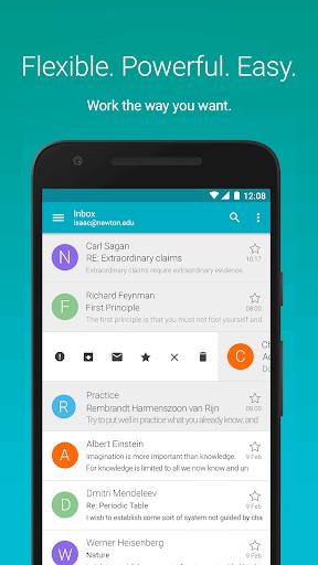AquaMail - Email App screenshot 1