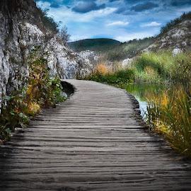 one way by Rebeka Legovic - Landscapes Travel ( plitvice, croatia,  )