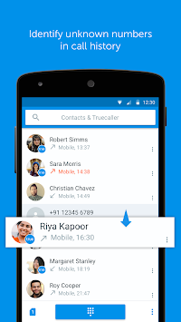Truedialer - Phone & Contacts APK screenshot thumbnail 1