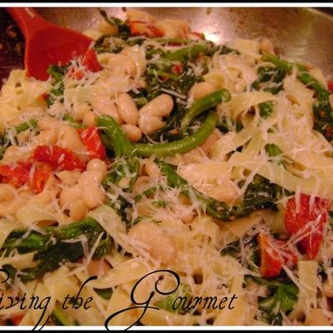 Living The Gourmet Broccoli Rabe Pasta Toss