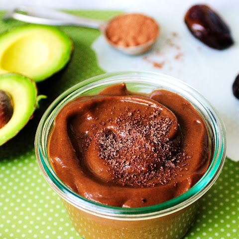 Avocado Date Chocolate Pudding