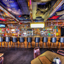 Rhino Bar & Grill by Dav Akers - Food & Drink Alcohol & Drinks ( tables, alcohol, seats, bar, commercial, drinks )