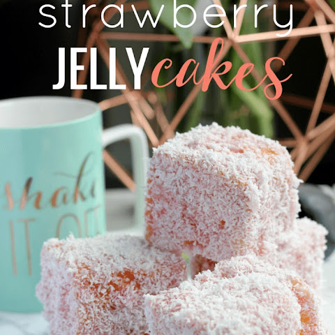 Strawberry Jelly Cakes