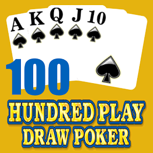 Hundred 100 Play Draw Poker