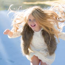Jumping for Joy by Kellie Jones - Babies & Children Children Candids