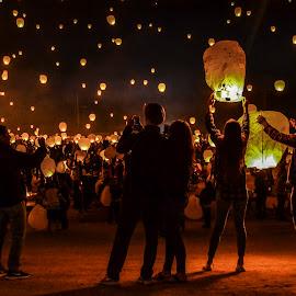 Lantern festival  by Braidon Everts - People Street & Candids ( lantern, nikon, photography )