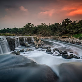Parigi Waterfall by Suyoto Achmadi - Landscapes Sunsets & Sunrises ( bekasi, parigi, indonesia, waterfall, curug )