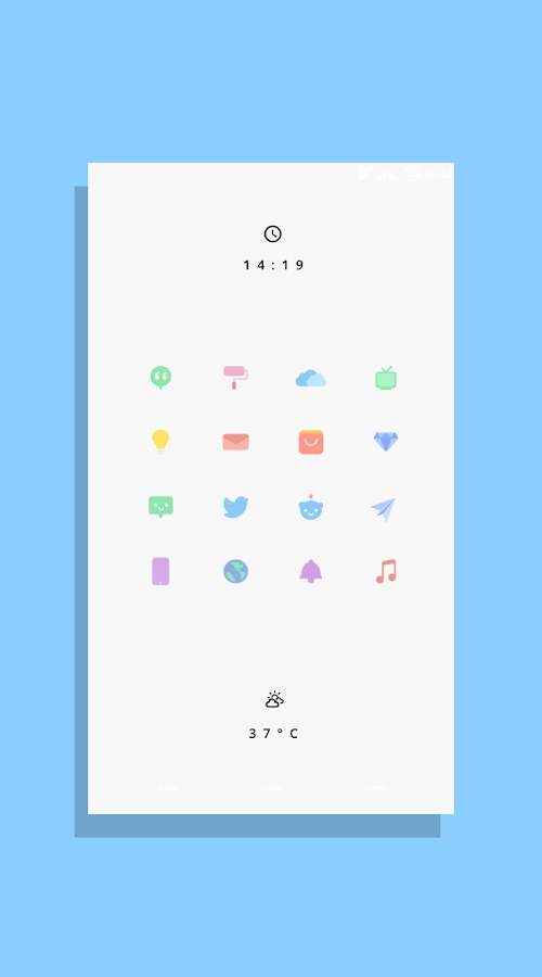 Kecil - Icon Pack for Android Screenshot 0