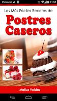Screenshot of Postres Caseros 2.0