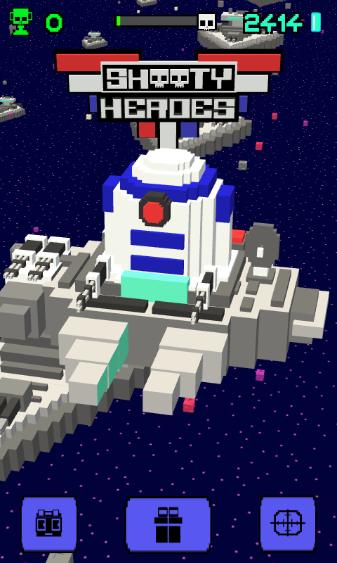 Shooty Sky Hero- Arcade Flight Screenshot 12