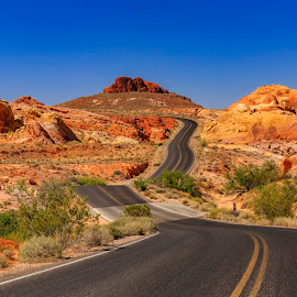 desert highway by Bodi Shoots - Landscapes Deserts ( fb- bodi shoots, #bodishootsphotography )