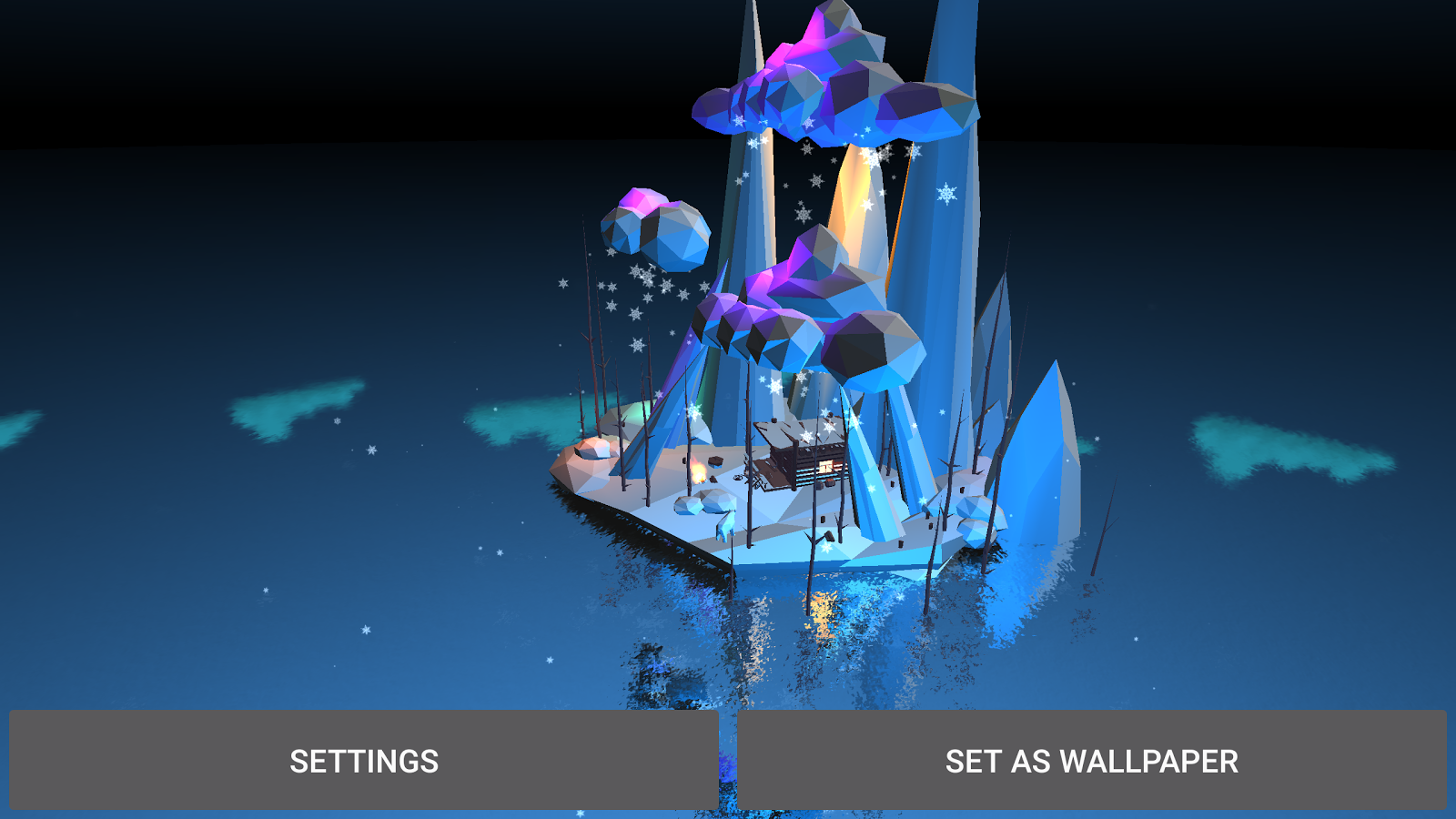 Poly Island 3D Live Wallpaper Screenshot 10