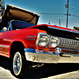 Left bank by Benito Flores Jr - Transportation Automobiles ( low rider, texas, killeen, chevy )