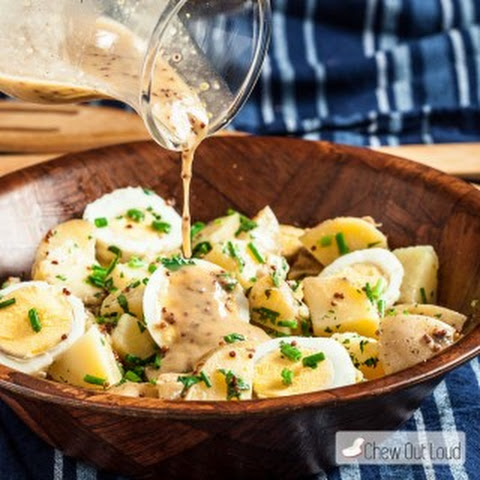 Potato Salad with Honey Mustard Vinaigrette
