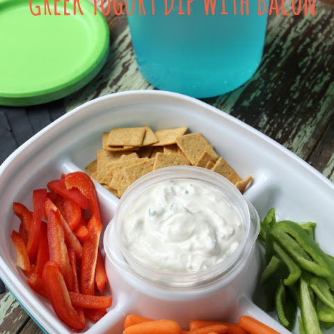 Greek Yogurt Dip With Bacon