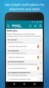 Amazon Shopping APK screenshot thumbnail 5