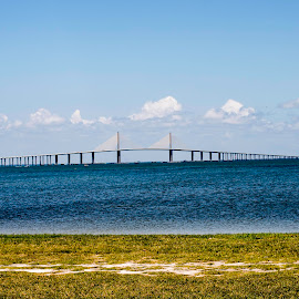 skyway bridge in florida by Jim Evans - Buildings & Architecture Bridges & Suspended Structures
