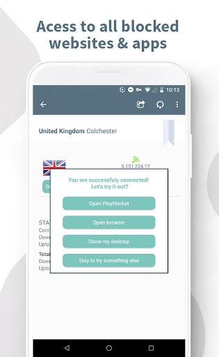 Ghost VPN - Unlimited & Free VPN Worldwide screenshot 5