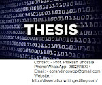 Top Quality Thesis Writing Services in Pune