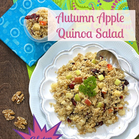 Autumn Apple Quinoa Salad