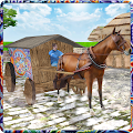 Game Wild Horse Carriage Transport APK for Kindle