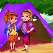 Download Arietta's crazy team camping APK on PC