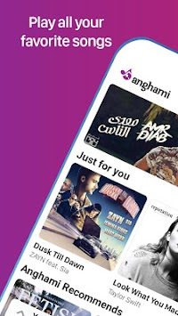 Anghami - Free Unlimited Music APK screenshot thumbnail 1