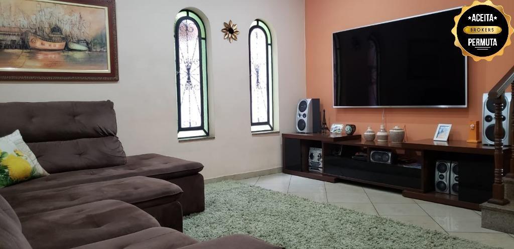 Sobrado à venda, 320 m² por R$ 540.000,00 - Vila Palmares - Santo André/SP
