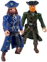 """Набор фигурок """"Пираты Рыжая борода и Роджер"""""""