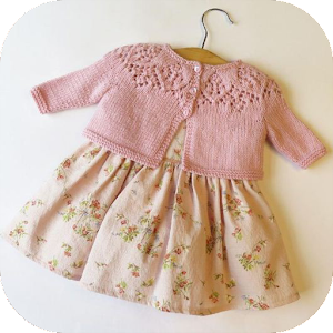 Download Crochet Baby Cardigan For PC Windows and Mac