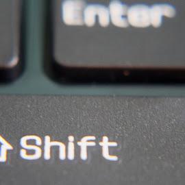Computer Keys by H Scott Burd - Artistic Objects Technology Objects ( shift enter )
