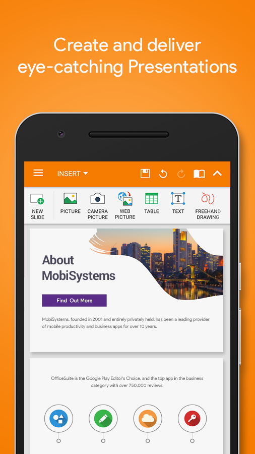 OfficeSuite : Free Office + PDF Editor & Converter Screenshot 3
