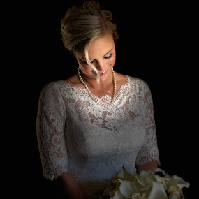 7/28/18 by Bryce Blood - Wedding Bride ( bride, dress, flowers, wedding, portrait )