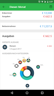 Money Lover - der Reisekostenmanager Screenshot