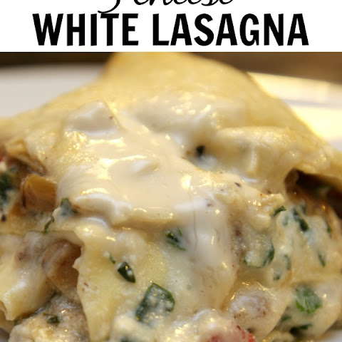 3 Cheese White Lasagna
