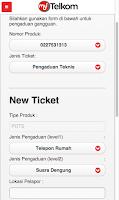 Screenshot of My Telkom