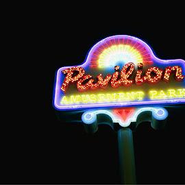 by Chris Snyder - City,  Street & Park  Amusement Parks ( sign, lights, neon sign, myrtle beach pavilion, amusement park, grand strand )