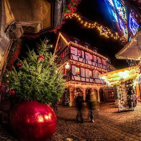 Noel à Colmar 2017 II by Pierre Husson - Public Holidays Christmas ( hiver, christmas, city lights, france, alsace, noel, colmar )