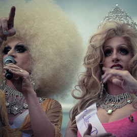drag queens by Piotr Kutolowski - People Musicians & Entertainers ( drag queens, parade, transvestite, homo, show )