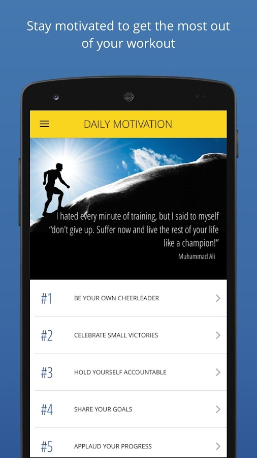 P4P 7 Minute Workout PRO Screenshot 6