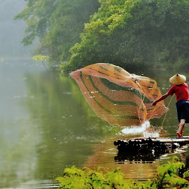 Fisherman by Tamlikho Tam - People Professional People