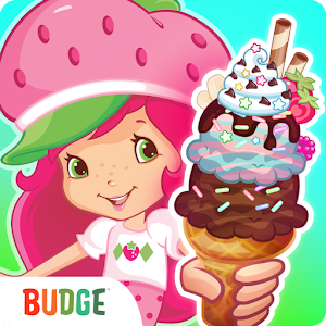 Strawberry Shortcake Ice-Cream Icon