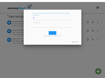 SurveyXact Offline - screenshot