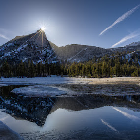 Cathedral Peak by Walter Hsiao - Landscapes Waterscapes ( yosemite, cathedral peak, callifornia )