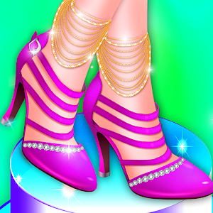 Download free Candy High Heels Shoe Making Factory for PC on Windows and Mac