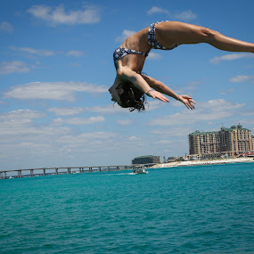 Form by John Spain - Sports & Fitness Watersports ( water, form, dive, ocean, gymnastics )