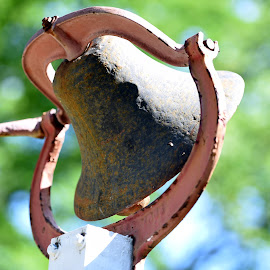 Antique Bell at Queens Farm  by Lorraine D.  Heaney - Artistic Objects Antiques