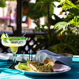 Mexican Lunch in Loreto  by Vonelle Swanson - Food & Drink Plated Food