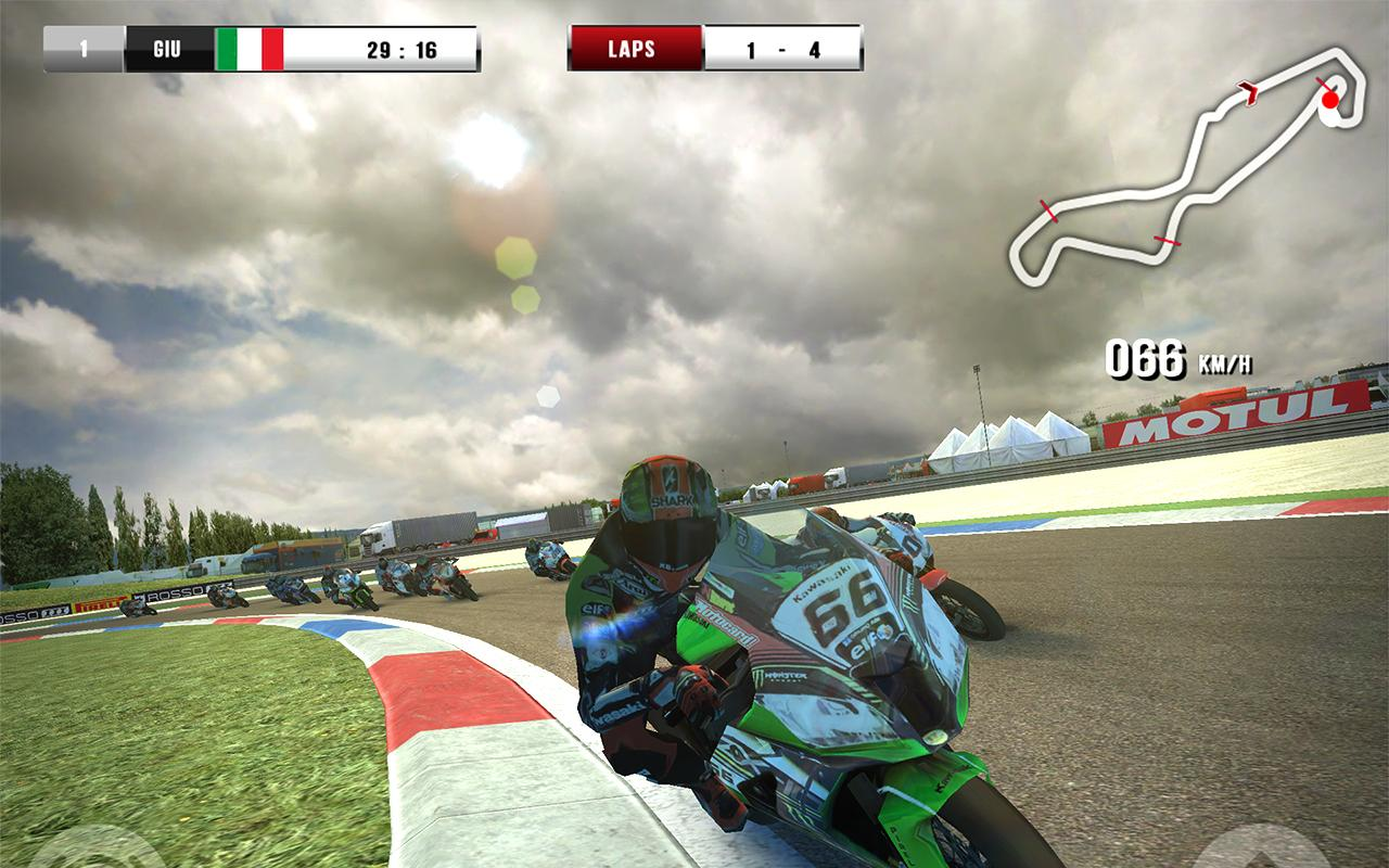 SBK16 Official Mobile Game Screenshot