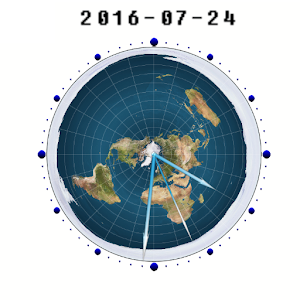 Flat Earth Clock For PC